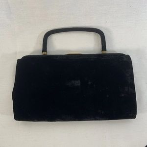 Garay Vintage Velvet Purse Evening Bag